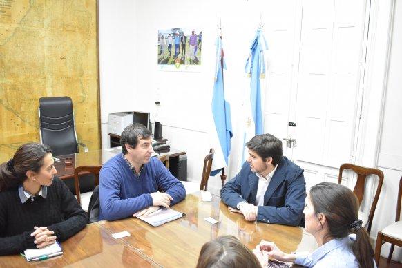 Autoridades de Producción trabajaron con miembros de la nueva mesa ejecutiva de Copaer