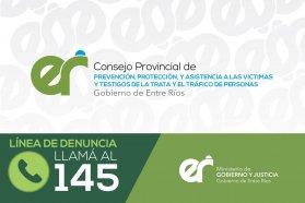 Por el Día Mundial contra la Trata de Personas se realizan actividades de concientización en Entre Ríos