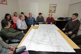El gobierno provincial trabaja en la construcción de la defensa urbana de Villa Paranacito
