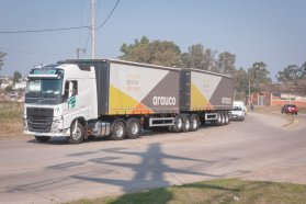 Se realizó una prueba de accesibilidad al puerto de Concepción del Uruguay