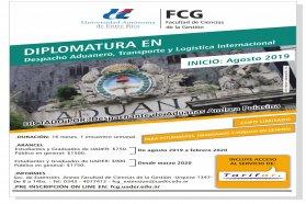 Se realizará una charla informativa sobre la Diplomatura en Despacho Aduanero
