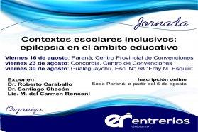 Este lunes abre la inscripción para las jornada sobre epilepsia en Concordia