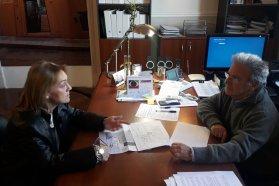 Se evaluó el plan de obras para el hospital de Niños San Roque