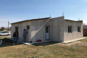 En Tabossi se construyen viviendas financiadas por la provincia