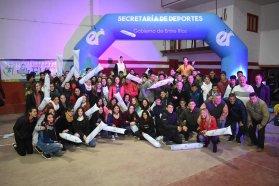 Se realizan las Finales Provinciales de vóley de los Juegos Evita en San José y Colón