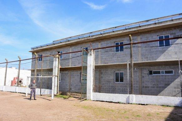 Continúan los avances de construcción en la unidad penal de Concordia