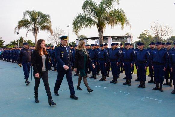 Egresó la 112° promoción de agentes de la Policía de Entre Ríos
