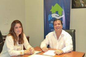 Nuevas viviendas se ejecutan en Villaguay con fondos provinciales