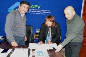 Se suman nuevas viviendas para San José de Feliciano financiadas por la provincia