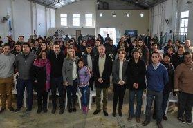 En el departamento La Paz, el gobierno provincial fortalece la economía social y las organizaciones