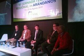 Se realiza en Concordia la décima Jornada Técnica Regional en Arándanos