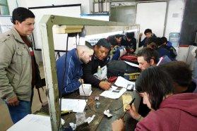 Estudiantes de escuelas técnicas realizaron aros magnéticos en Concepción del Uruguay