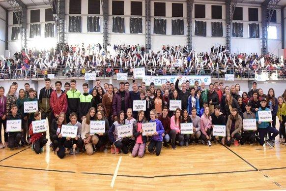 Inició la final provincial de Atletismo de los Juegos Evita en Concepción del Uruguay