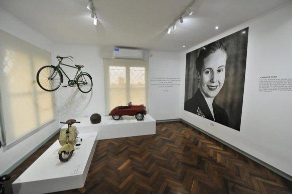 El Becario acompaña al Museo Provincial Hogar Escuela Eva Perón