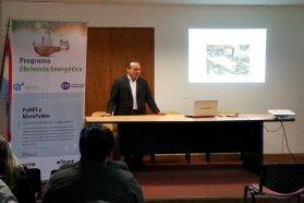 Se realizó una charla sobre eficiencia energética en Federación