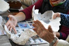 El Museo Provincial Antonio Serrano entregó material arqueológico restaurado