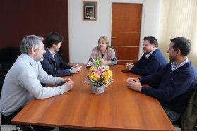 El CGE  y la Secretaria de la Producción articulan actividades conjuntas