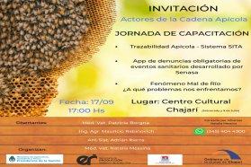 Se realizarán jornadas de capacitación apícola en Concordia y Chajarí