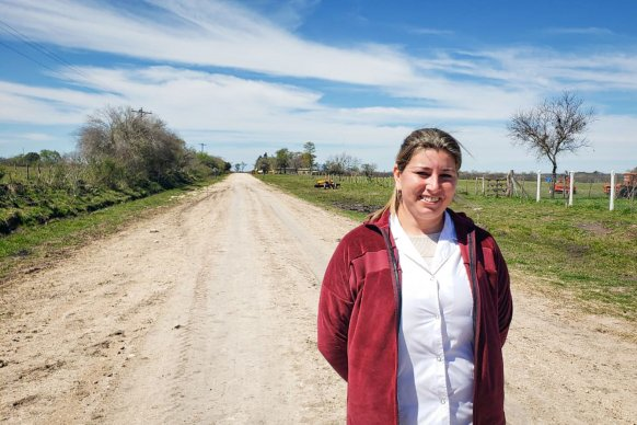 Vialidad trabaja en tareas de conservación en el departamento Villaguay