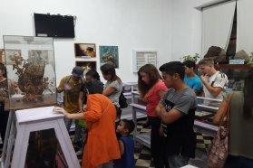 Visitas especiales para escuelas nocturnas en el Museo Serrano