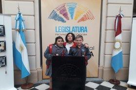 Estudiantes de la escuela Mercedarias representaron a Entre Ríos en el Parlamento Nacional Infantil