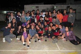 Más de 500 estudiantes participaron  del interescolar de handball provincial