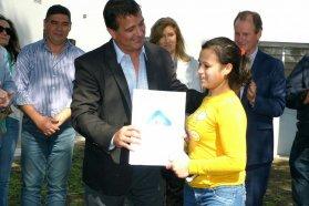 Se adjudicó la obra de 10 viviendas en Santa Anita con fondos provinciales