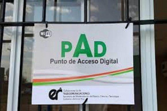 Instalan nuevos espacios de conectividad en La Paz