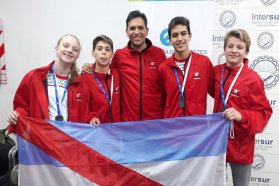 Entre Ríos obtuvo las primeras medallas en la Final Nacional de los Juegos Evita