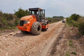 Vialidad y el municipio de Concepción del Uruguay consolidaron el camino a Santa Cándida