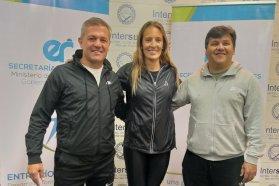 Importante visita a la delegación entrerriana de los Juegos Evita en Mar del Plata