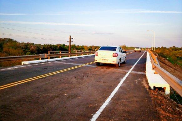 Se habilitó el puente sobre el alto nivel de la ruta 16 en Gualeguaychú