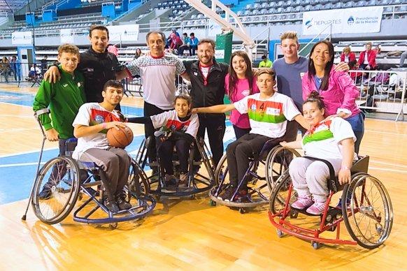Entre Ríos logró medalla de oro en básquet 3x3 adaptado en los Juegos Evita