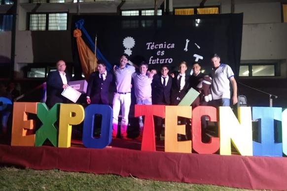 Más de 20 instituciones educativas participaron de la Expo Técnica en Tala
