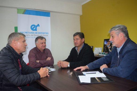 Se trabaja en el fortalecimiento de las instituciones deportivas de Diamante