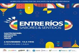Entre Ríos presentará la segunda edición de Sabores y Sentidos en Buenos Aires