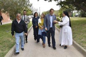 Bordet visitó la Congregación Siervas de la Divina Providencia de Paraná
