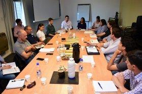Se realizó un encuentro de trabajo con la Unión Industrial de Entre Ríos