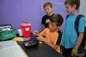 Se desarrolla el campamento anual para niños y adolescentes con diabetes
