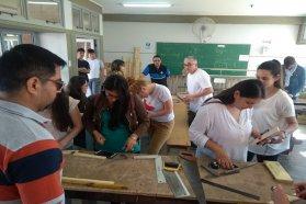 Se realizó una capacitación en matemática para docentes de la modalidad técnico profesional