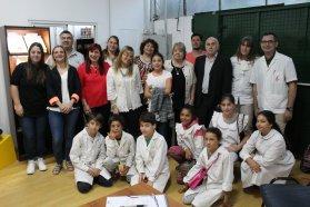 La cooperativa escolar Tejiendo e Hilvanando Sueños será  apadrinada por la  textil  del Centro de Paraná