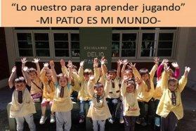 El nivel inicial de la escuela Delio Panizza fue premiada por Argentina en el concurso Mi patio es el mundo