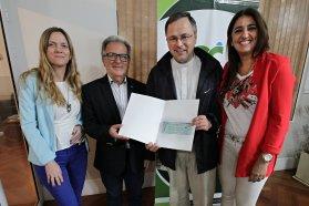 Se entregaron aportes para obras en Villa Urquiza
