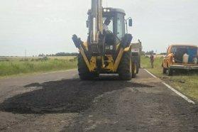 Este jueves continuarán las tareas de mantenimiento en la ruta 20 desde Villaguay a Basavilbaso
