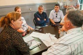 Coordinan la continuidad de los trabajos en la ruta provincial 51