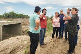 La provincia ejecuta diversas obras viales en Enrique Carbó