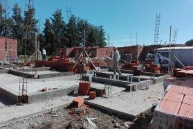A buen ritmo se construyen 10 viviendas financiadas por la provincia en San José