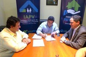 Con recursos provinciales  se ejecutarán 16 nuevas viviendas en Larroque