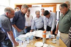 Avanza la construcción de la defensa urbana de Villa Paranacito