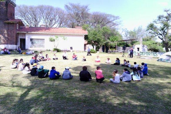 Más de 20.000 estudiantes participaron de campamentos educativos